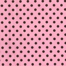 Michael Miller Polka Dumb Dot Pink Fabric