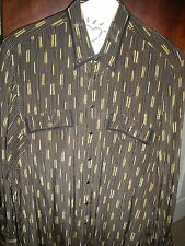 Exquisite, Must Own  GERLIN SILK shirt--Made in Italy-Size 17 / 43