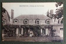 CPSM. MAUPREVOIR. 86 - Chateau de chez Monteau. Sépia.  1935.