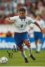 ITALY HAND SIGNED ROBERTO DI MATTEO 6X4 PHOTO.