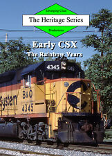 Train DVD: Early CSX with Chessie, Seaboard, Clinchfield, Family Lines and more!