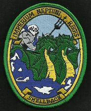 US NAVY King Neptune Shellback Military Patch IMPERIUM NEPTUNI REGIS