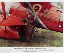 1930  --  UN MAITRE DE L AIR   LE PILOTE DIEUDONNE COSTE   3K563
