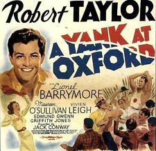A Yank at Oxford - 1938 - Robert Taylor Lionel Barrymore - Vintage b/w Film DVD