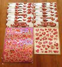 It's in The Bag Valentine Laser & Velvet Stickers, 1 Dozen Sheets (534 Stickers)