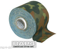 Paintball Airsoft Gun Cotton Camouflage Tape (German Flecktarn) [U2]