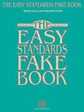 THE EASY STANDARDS FAKE BOOK MELODY LYRICS & SIMPLIFIED   CHORDS IN KE-ExLibrary