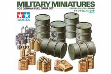 Tamiya 35186 Maquette 1/35 German Fuel Drum Set