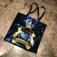 Brand New Genuine Ted Baker Royal Mint Dark Blue Navy Gold Shopper Large Bag