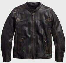 Harley Davidson Men's Willie G. Limited Edit. Buffalo Leather Jacket.US L. New !