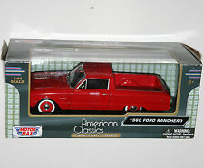 Motor Max - 1960 FORD RANCHERO (Red) - Model Scale 1:24
