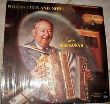 POLKA'S NOW AND THEN, JOE KUSAR Vinyl LP on Normandy SIGNED AUTOGRAPH! EXCELLENT