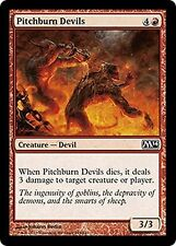 Pitchburn Devils    x4  EX/NM CHINESE M14  MTG Magic  Red  Common