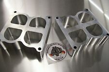 """Fits Weiand Tunnel Ram Aluminum Spacer Gasser Ford 351C Cleveland Riser 2"""" Tall"""
