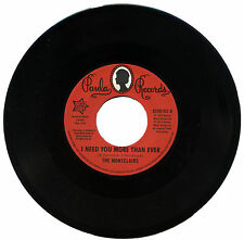 """MONTCLAIRS  """"I NEED YOU MORE THAN EVER""""   KILLER NORTHERN SOUL      LISTEN"""