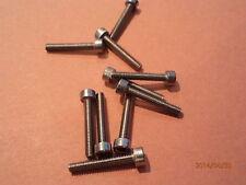 M2.5 x 16mm  A2 STAINLESS STEEL HEX SKT CAP HD SCREWS QTY  = 10