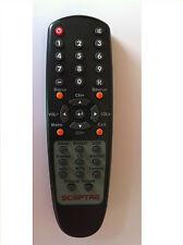 New SCEPTRE Remote Control for E240_FHD X32BV-FULLHD X32 X240XX-FHD X320BV TV