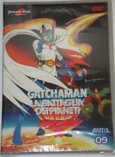 GATCHAMAN LA BATTAGLIA DEI PIANETI Serie TV  DVD 09  NUOVO