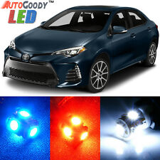 8 x Premium Xenon White LED Lights Interior Package Kit for Toyota Corolla