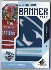 16-17 SP Game Used 2015 Winter Classic Banner Year Alex Ovechkin  ,#BWS-AO SP