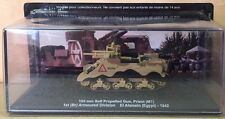 "DIE CAST TANK "" 105 MM SELF PROPELLED GUN EL ALAMEIN - 1942 "" BLINDATI 033 1/72"