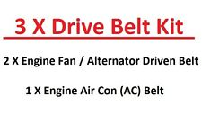 Mazda Pick Up BT50  2.5TD-3.0TD Engine Fan/Alternator+AC Drive Belts (02/2006+)