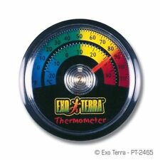 Thermometer Reptile Temperature Gauge - Farenheit and Celsius - Exo Terra