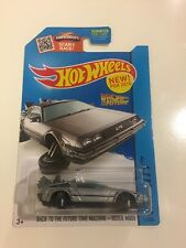 HOT WHEELS 2015 HW City Back To The Future Time Machine Hover Mode (T01)