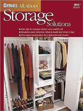 Ortho's All About Storage Solutions, Ortho Books, Good Book