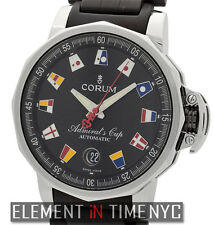 Corum Admiral's Cup Trophy 41 Stainless Steel Black Flag Dial 082.831.20