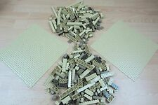 LEGO 2 x Sand/tan Lego Bases 32 x 32 plus a mix of bricks bundle