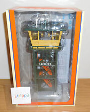 LIONEL 6-37996 RAILROAD CONTROL TOWER #192 OPERATING TOY TRAIN ACCESSORY O GAUGE