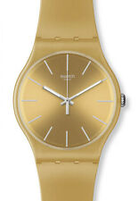 "SWATCH NEW GENT ""GOLDEN REBEL"" (SUOZ119) NEU, SELTEN"