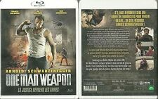 BLU RAY - ONE MAN WEAPON avec ARNOLD SCHWARZENEGGER / NEUF EMBALLE  NEW & SEALED