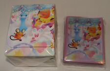Japanese Pokemon, Pokekyun Collection Deck Case & 62 Sleeves Factory sealed