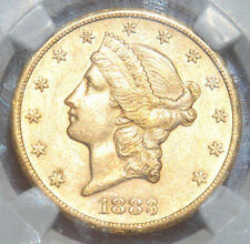 1883-CC $20 Gold Liberty Double Eagle AU55 NGC (Carson City), Trends @ $7,225+