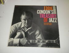 EDDIE CONDON'S TREASURY OF JAZZ - LP 1959 COLUMBIA 6 EYE LABEL MADE IN U.S.A. -