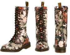 Dr. Martens Women's 1B99 Cerys Floral Jungle Boot 14 eye  US 7 EU 38 UK 5