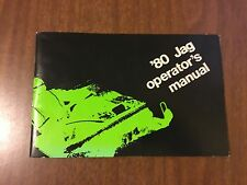 Vintage Arctic Cat 1980 Jag Operator's Manual 2254-134