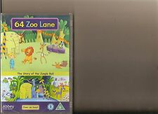 64 ZOO LANE THE STORY OF THE JUNGLE BALL DVD SEALED KIDS 9 EPISODES