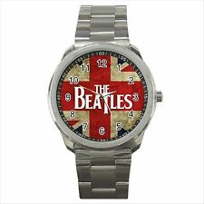 NEW* HOT THE BEATLES BAND Quality Sport Metal Wrist Watch Gift