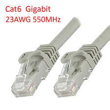 Lot 25pcs 25Ft Cat6 RJ45 23AWG 550Mhz Gigabit LAN Ethernet Network Patch Cable
