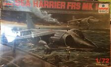 ESCI 1:72  SEA HARRIER FRS MK I Plastic Aircraft Model Kit #9030