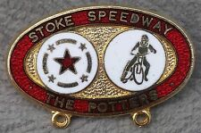 Stoke Speedway Club The Potters Enamel Pin Badge
