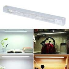 White Touch Control Dimmable LED USB Powered 21 LED Strip Light Bar Tube Lamp HK