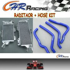 R&L ALUMINUM RADIATOR AND HOSE  FOR KAWASAKI KX125 1990 1991 1993 1992