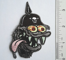 German ARMY Helmet MONSTER Pickelhaube EMBROIDERED Cloth PATCH Sew-on/Iron-on