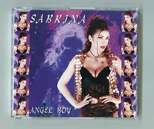 Sabrina cd-maxi ANGEL BOY © 1995 - zyx 7564-8 ORIGINAL 4-Track - italo disco