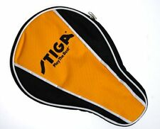 Stiga Table Tennis Ping Pong Racket Paddle Cover Bag Case Black/Orange NEW