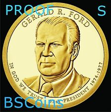 2016 S Presidential Dollar - Gerald R Ford PROOF coin - In Stock - Ship TODAY
